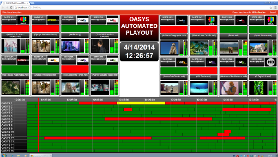 Integrated Playout BroadStream Oasys for Novy channel in Ukraine